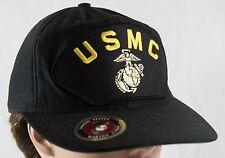 United States Marine Corps USMC Hat Adjustable Snap Back Cap USA MADE