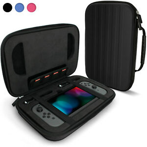Black-Elite-EVA-Hard-Travel-Case-Cover-for-Nintendo-Switch-Carry-Handle