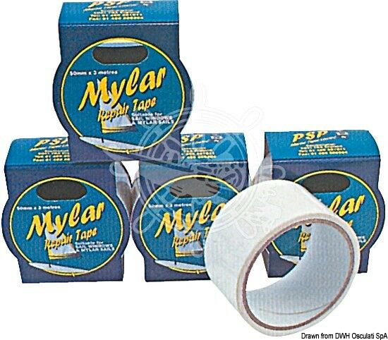 Psp Mylar Tape 50Mm X 3M Clear
