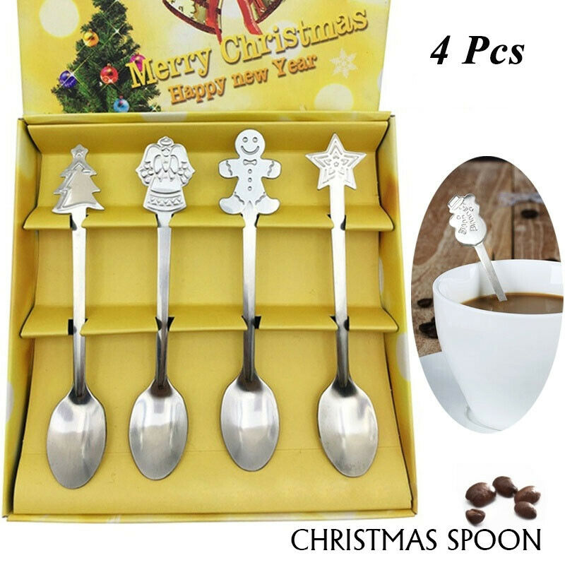Christmas Gifts Kitchen /& Dining Coffee Spoon Stainless Steel Ice cream Scoop