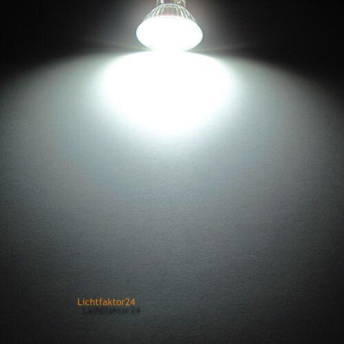 3W=30W 2 x Deckenstrahler SMD LED 230V EEK A Aluminium// Gu10 Fassung