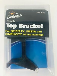Details about RV - Carefree Awning Top Bracket, Part #901018, BLACK