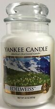 Yankee Candle EDELWEISS 22oz Jar My Favorite Things Collection