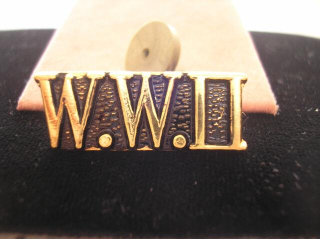 WORLD WAR 2 VETERAN HAT PIN - W.W. II