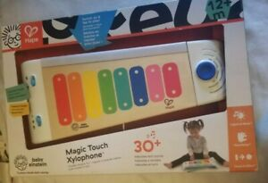Baby-Einstein-Hape-Magic-Touch-Xylophone-Wooden-Musical-Toy-New-in-Box