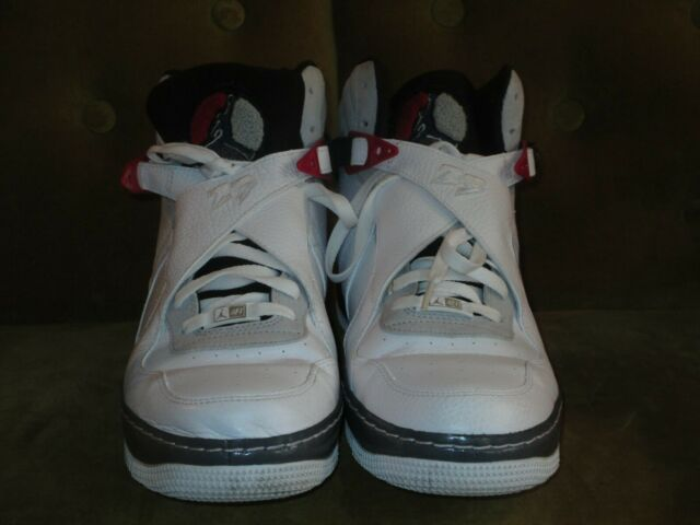 Nike Air Jordan 8 Air Force 1 Hi Top Leather Basketball Shoes Size