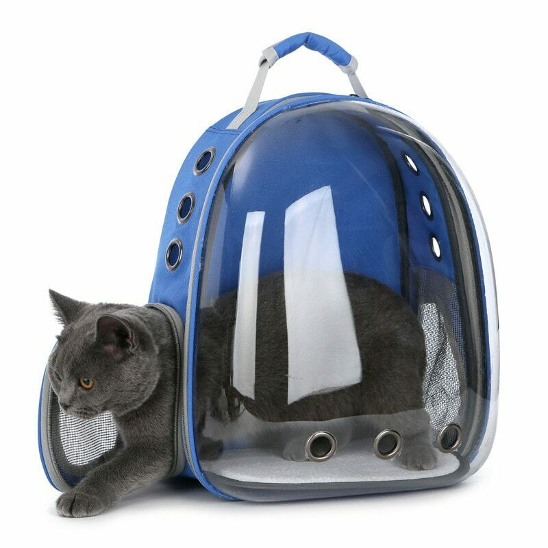 Pet Dog Cat Astronaut Backpack Space Capsule Breathable Outdoor ...