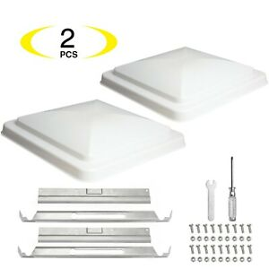 RV-Vent-Lid-Replacement-Roof-RV-Vent-Cover-Trailer-Camper-White-2-Pack-ONLTCO