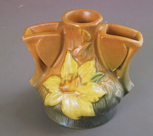 Roseville Pottery Patterns Clematis