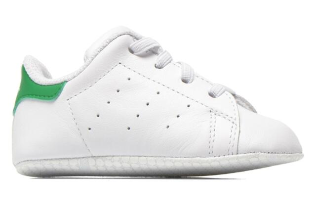 Bambino Adidas Originals Stan Smith Crib Sneakers Bianco