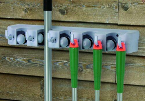 Gartenleiste Geräteleiste Ordnungsleiste Gartenwerkzeug Aufbewahrung Leiste