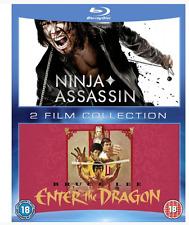 Ninja Assassin & Enter the Dragon Double Pack (2014, Blu-ray)