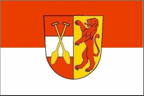 Aufkleber Riedlingen Flagge Fahne 12 x 8 cm Autoaufkleber Sticker