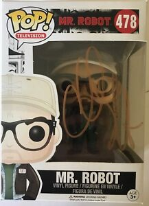 Christian Slater Signé Mr Robot Funko Pop # 478.