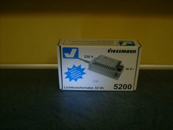52/VA /Lumi/ère Transformateur 16/V Viessmann 5200/