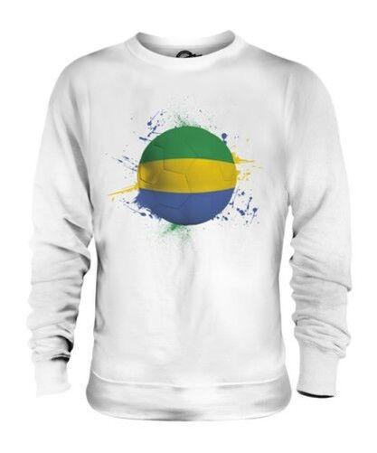 Gabun Fußball Unisex Pullover Top Geschenk Weltmeisterschaft Sport