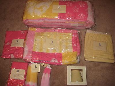New Girls 8pc Pottery Barn Kids Tie Dye, Tie Dye Nursery Bedding