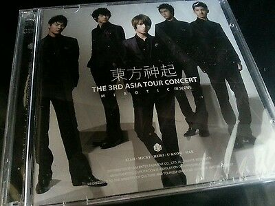 TVXQ (DBSK) 3rd Asia Tour Concert [MIROTIC in Seoul ] :: 2CDs w/booklet - Kpop
