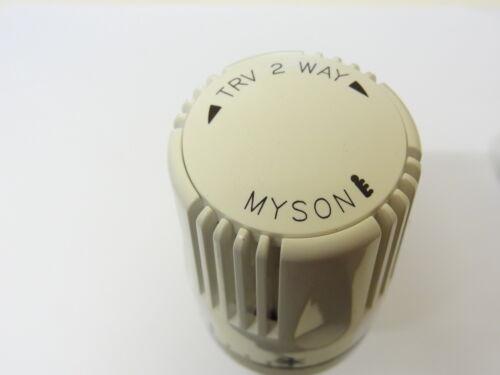 Myson TERMOSTATICO VALVOLA PER RADIATORI TRV-2-WAY 15mm x 1//2 Pollici BSP 2TRV15N