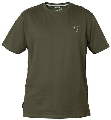 Fox Collection Verde E Argento T-shirt-varie Taglie Disponibili- Elaborato Finemente