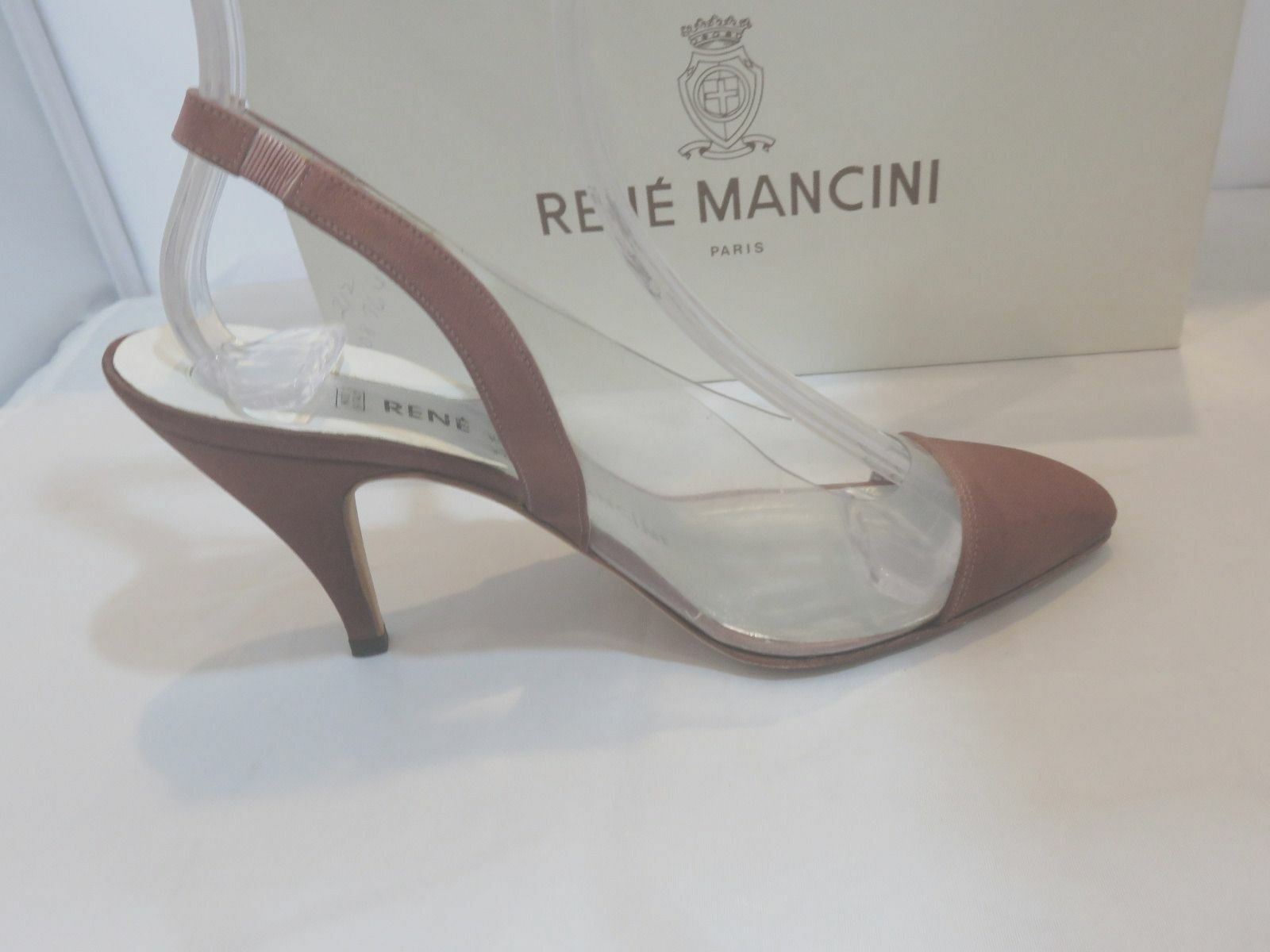 Rene Mancini Clear Rust  Slingbacks High (3in (3in (3in and Up) Taille 36.5 f17dc7