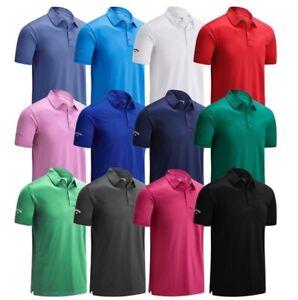 Callaway-Swingtech-Solid-Stretch-Golf-Polo-Shirt-New-For-2020