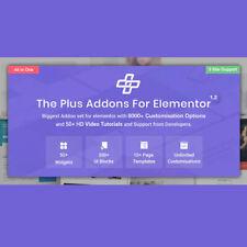 Wordpress Plugin The Plus Addon For Elementor Page Builder