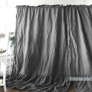 Linen Curtains Bedroom Door Window