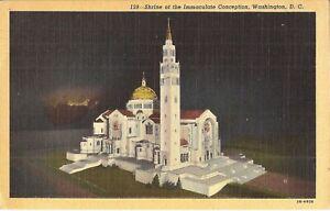 Washington-DC-National-Shrine-of-the-Immaculate-Conception-1948-Catholic