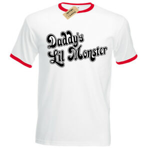 Halloween T Harley Monster Quinn Daddy's Shirt Inspired Lil Ringer A34LqR5j