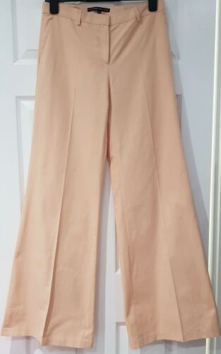 It42 Bukser Acqua Leg Peach Bomuld Alessandro Bukser Uk10 Dell Flare Wide Pink zpnvw