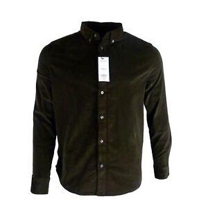Ex-Burton-Hombre-Informal-Camiseta-Marron-Cordon-Elastico-Talla-XS-3XL-PVP-28-00