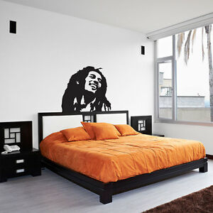 Image Is Loading Bob Marley Vinyl Wall Art Decal For Home