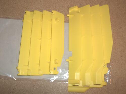 New Yellow Radiator Guards Suzuki RMZ250 RMZ 250 2010 2011 2012 2013 2014 2015