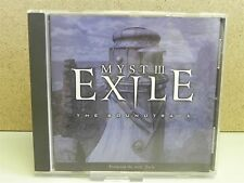 Myst III 3: Exile - PC Video Game Soundtrack Music CD (2001 Jack Wall Score)