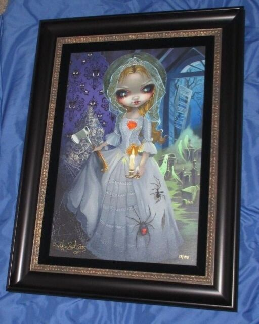 HAUNTED MANSION Art Print/Giclee SIGNED Jasmine Becket Griffith~Disney Exclusive