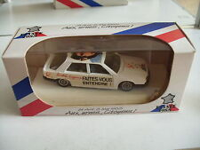 Solido Renault 25 Flysee 1988 in white in box on 1:43