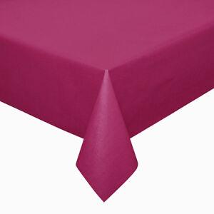 D-c-fix Acryl Soft Meterware Tischdecke 100% Baumwolle Pink Größe Wählbar Um 50 Prozent Reduziert