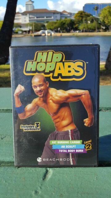 Shaun T Hip Hop ABS Level 2 DVD 3 Workouts 2007 Cardio Sculpt Total Body  Burn