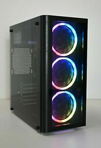 Presupuesto-RGB-Juegos-Pc-Quad-i5-CPU-8-GB-RAM-Unidad-de-disco-duro-SSD-1GB-DDR3-Gfx-Windows-10-Wifi