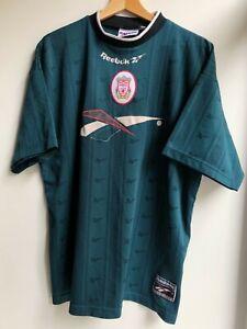 Rare Liverpool Training Shirt 1996-97 Reebok (Excellent) L Soccer Jersey Top