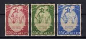 S24649) Dealer Stock Vatican 1969 MNH Easter 3v (X10 Sets)