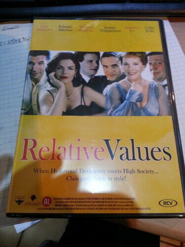 Relative Values - DVD - New - Free Shipping.
