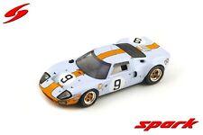 2017-1:43 Ixo Spark Modellauto S33+LM04 Sammlung von 2 Ford GT40 Le Mans