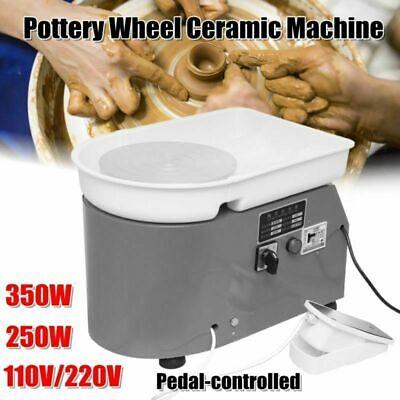 Töpferscheibe Töpferei Maschine Für Keramik Lehm Ton China Kunst 25cm 350W Neu