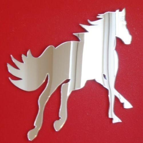 3mm Acrylique Miroir, plusieurs tailles disponibles Cantering cheval miroirs