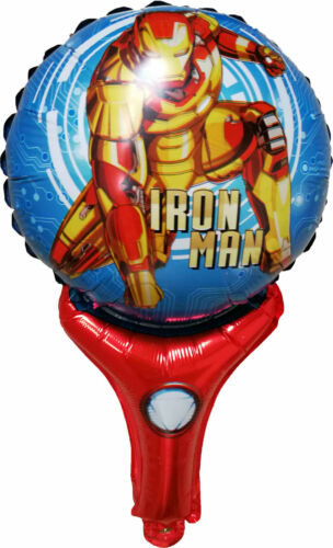 IRON MAN AVENGERS BALLOON SPIDERMAN BIRTHDAY PARTY BAG GIFT  DECORATION FAVOR
