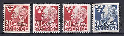 325 Mit Geschnitten Und 326 2019 Offiziell Pflichtbewusst Schweden 1946 Postfrisch Minr Europa