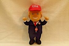 President Donald J. Trump Talking Soft Plush Doll Republican Collectible
