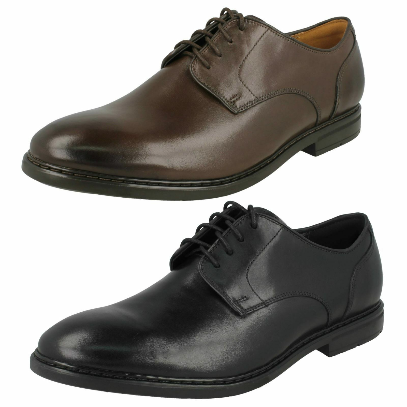 Mens Clarks Formal Lace Up shoes Banbury Lace